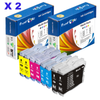 Brother LC-51 Compatible Ink Cartridges LC51 - Pan Continent Inc. - PrintOxe
