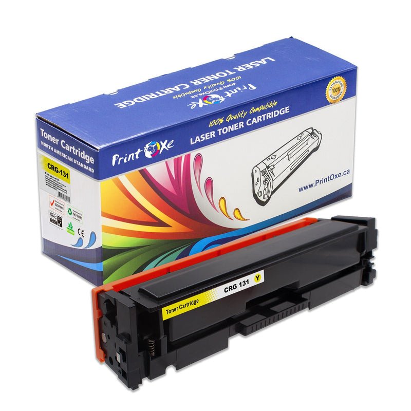 Canon CRG-131 Compatible Set of Toner Cartridges Black Cyan Magenta Yellow - Pan Continent Inc. - PrintOxe
