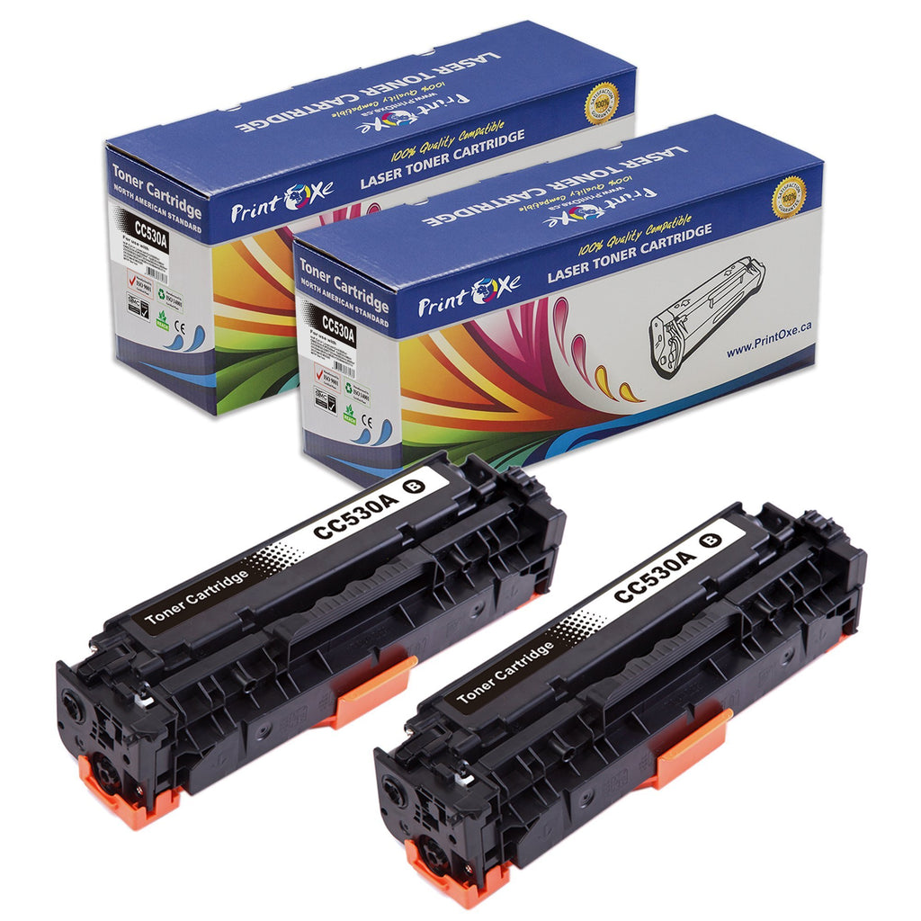 Compatible 304A Set plus Black | CC530A CC531A CC532A CC533A | 305A and 312A - Pan Continent Inc. - PrintOxe