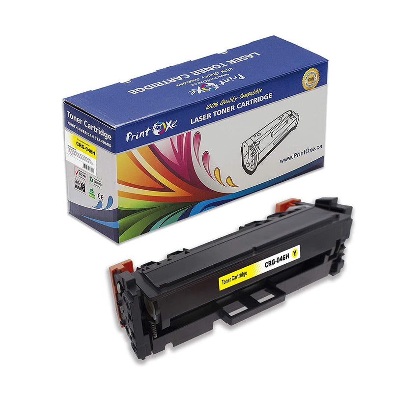 Compatible Yellow for Canon CRG 046H Toner Cartridge 046 | Yellow | - Pan Continent Inc. - PrintOxe