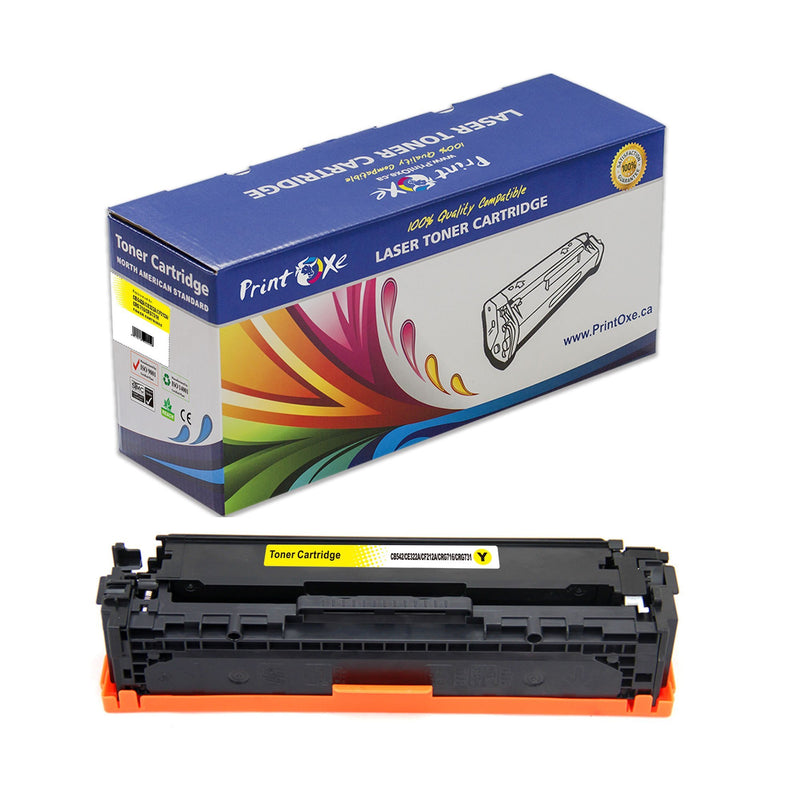 CRG 116 / 128A Compatible Set of 4 Cartridges for Canon & HP Printers - Pan Continent Inc. - PrintOxe