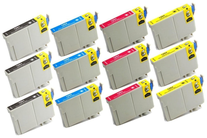 Epson 126 Remanufactured Ink Cartridges T126 (Non-OEM) - Pan Continent Inc. - PrintOxe
