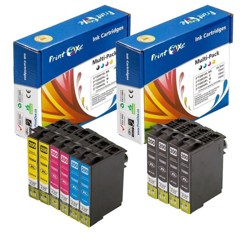 Epson 200XL Remanufactured Ink Cartridges T200 - Pan Continent Inc. - PrintOxe