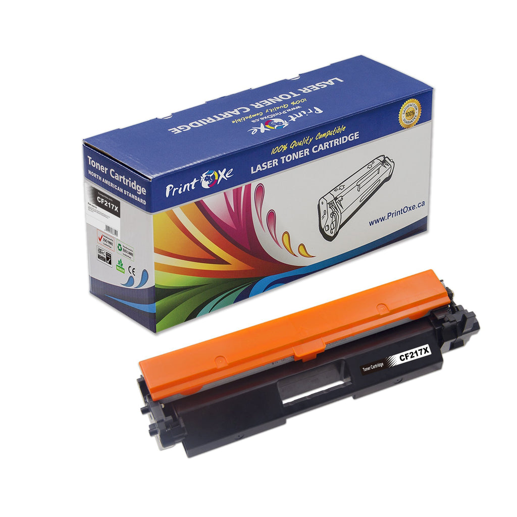 HP Compatible Toner for CF217X - with Chip 17X for LaserJet Pro and MFP Printers - Pan Continent Inc. - PrintOxe