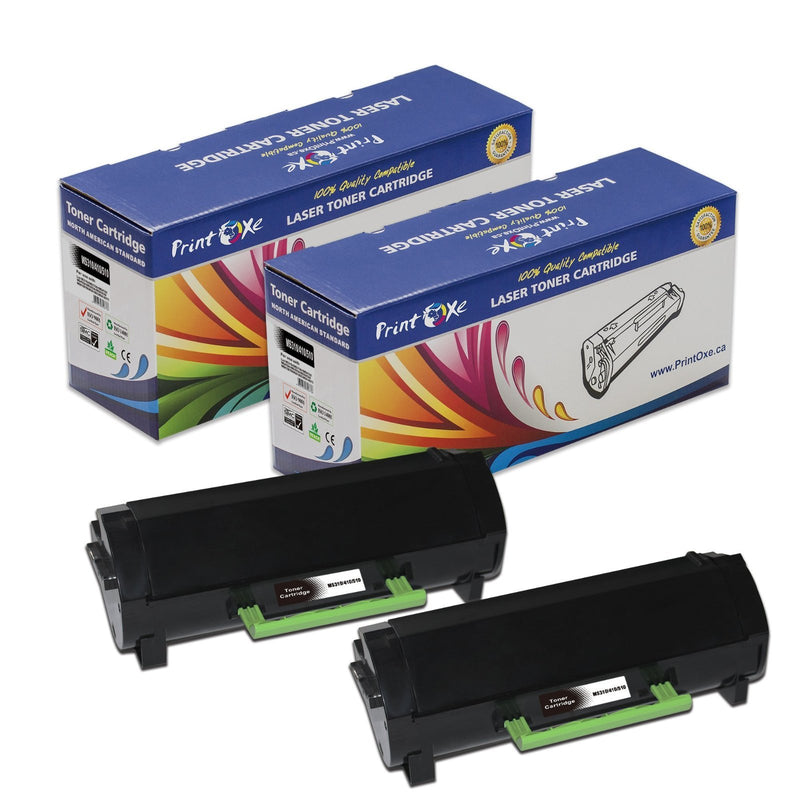 Lexmark 501H Two Compatible Toner Cartridges Each Yields 5,000 Pages 50F1000 - Pan Continent Inc. - PrintOxe