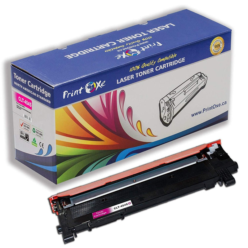 Samsung Compatible Set for CLT-404S of 4 Laser Toners (Black, Cyan, Magenta, & Yellow) - Pan Continent Inc. - PrintOxe