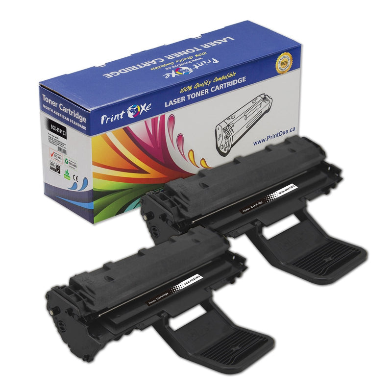 Samsung ML-D2010L / SCX-4521D3 Two Compatible Toner Cartridges for Samsung , Dell , and Xerox Phaser - Pan Continent Inc. - PrintOxe