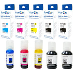 T502 Compatible Ink Refill Bottles Set plus Black 502 of 5 Bottles For Epson EcoTank Expression - Pan Continent Inc. - PrintOxe