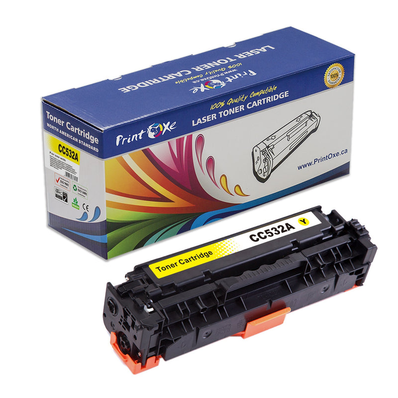Yellow Toner 304A CC532A | 305A CE412A | and 312A CF382A Compatible for HP - Pan Continent Inc. - PrintOxe