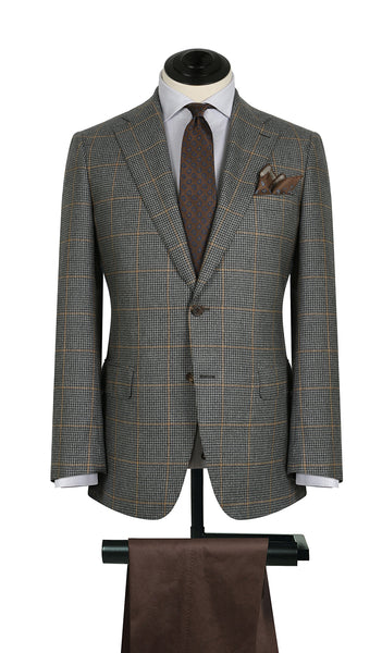 Grey Check w/ Yellow WP Sports Coat