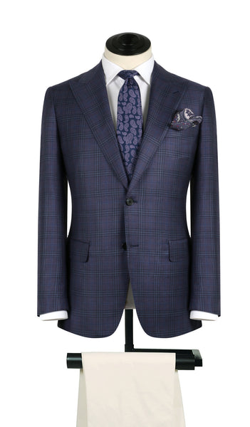 Purple and Royal Plaid Sports Coat