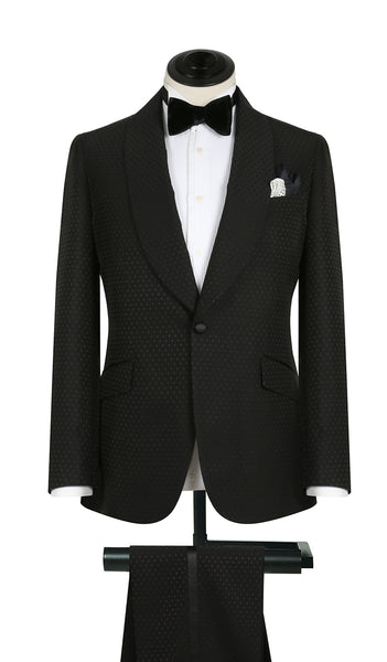 Black Dot Deco Tux