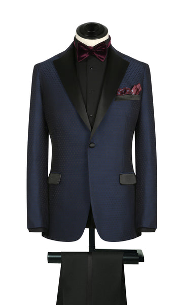 Blue Dot Deco Tux