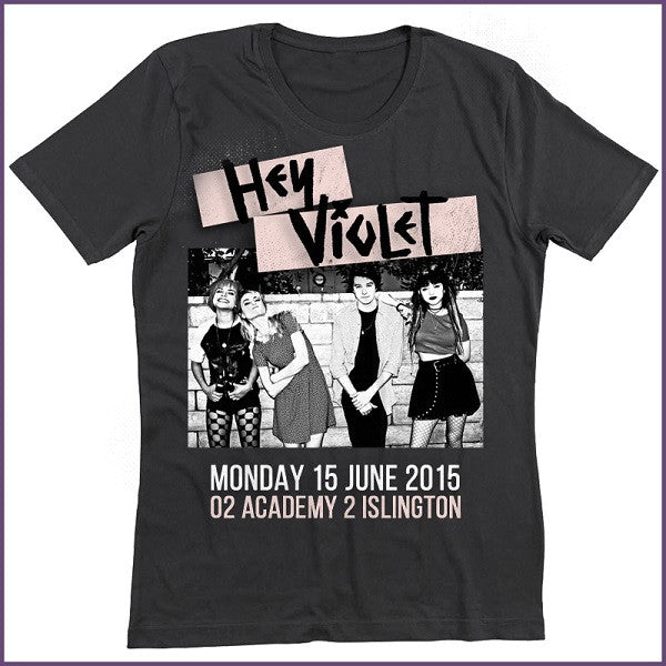 HEY VIOLET ISLINGTON T-SHIRT