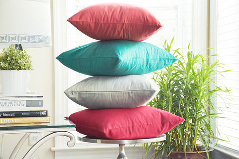 Ishani - Cotton Silk Decorative Pillows