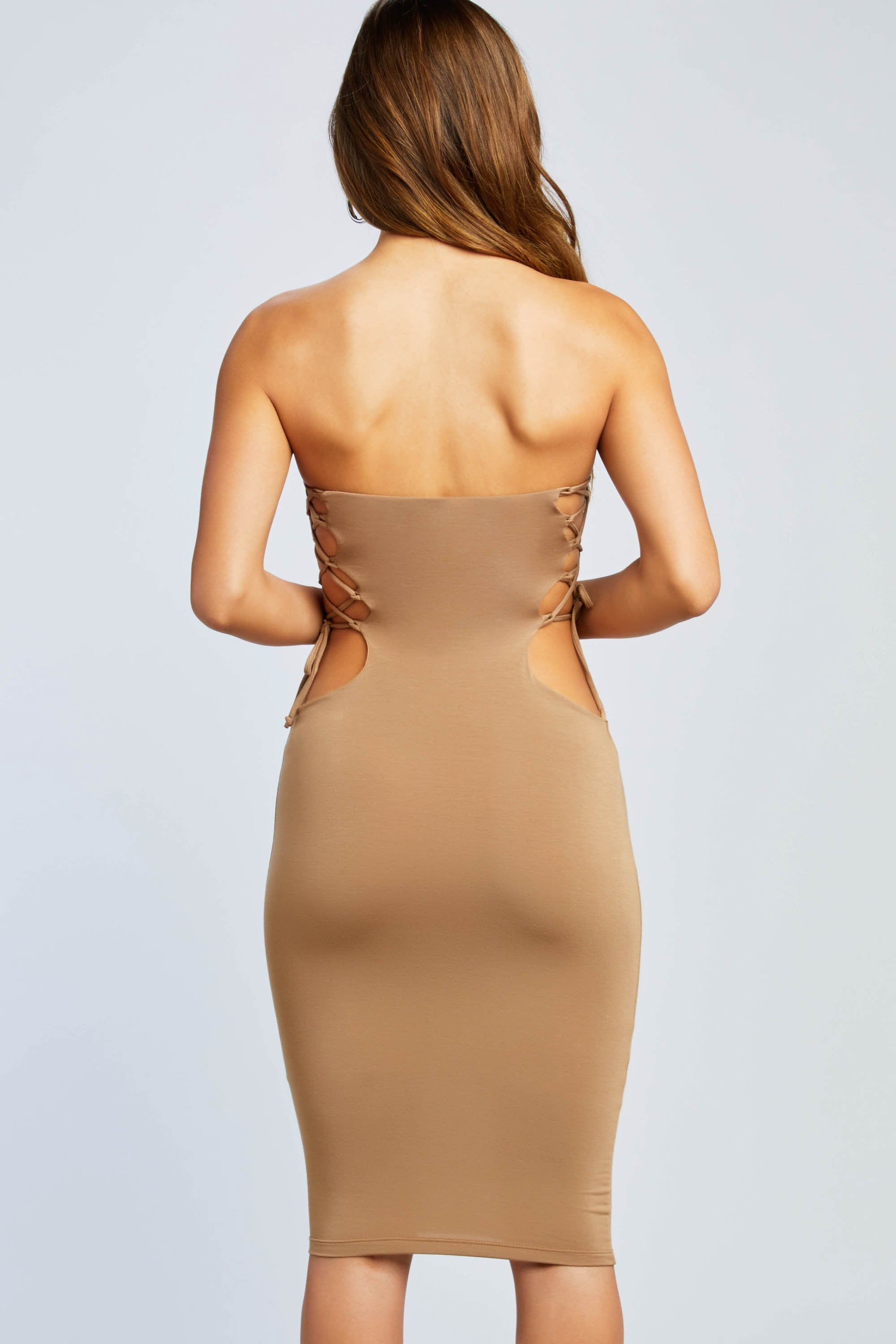 Lovers or Friends Strapless Dress