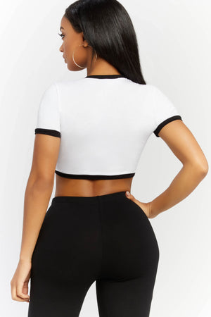 For The Lovers Crop Top