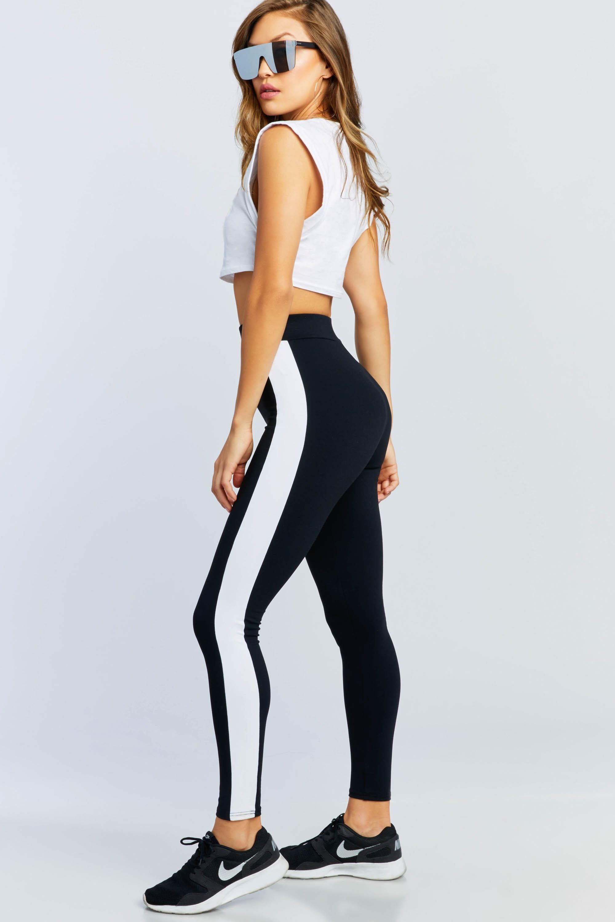 Never Too Much Striped Legging