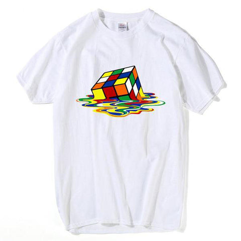 Melting Rubik's Tee