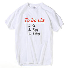 'To Do List' Tee