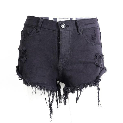 Ashlyn Distressed Shorts