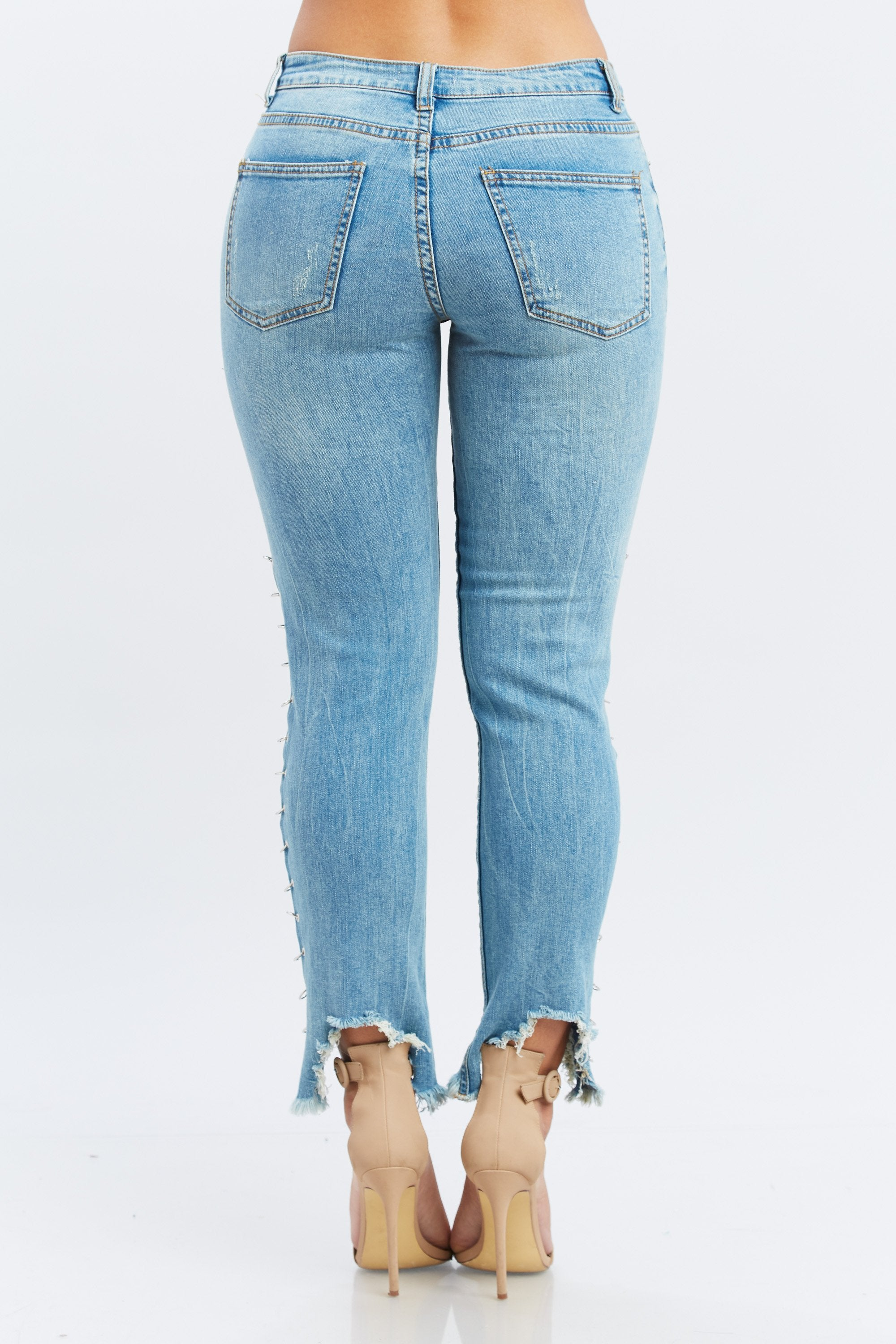 Eve Distressed Ring Jean