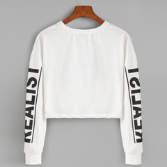 Realist Bae Cropped Pullover