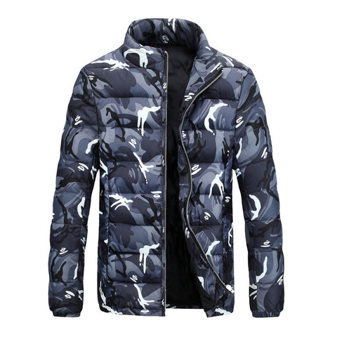 Camouflage Puffy Jackets