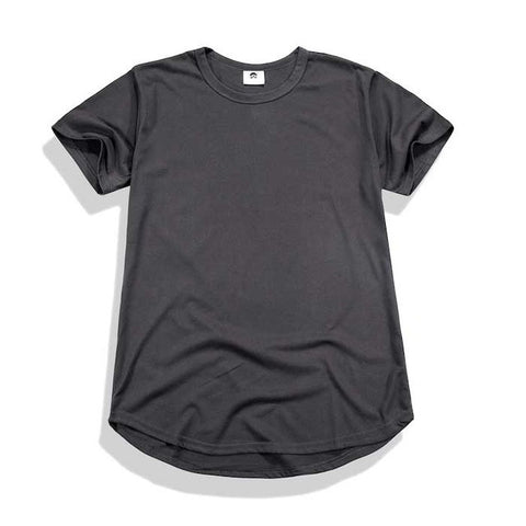 Premium Stefan Scoop Tee (Dark Grey)