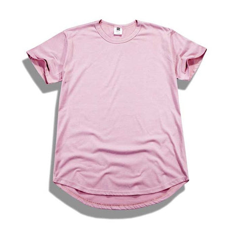 Premium Stefan Scoop Tee (Faded Pink)