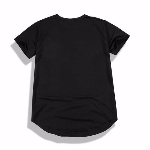 Premium Stefan Scoop Tee (Black)