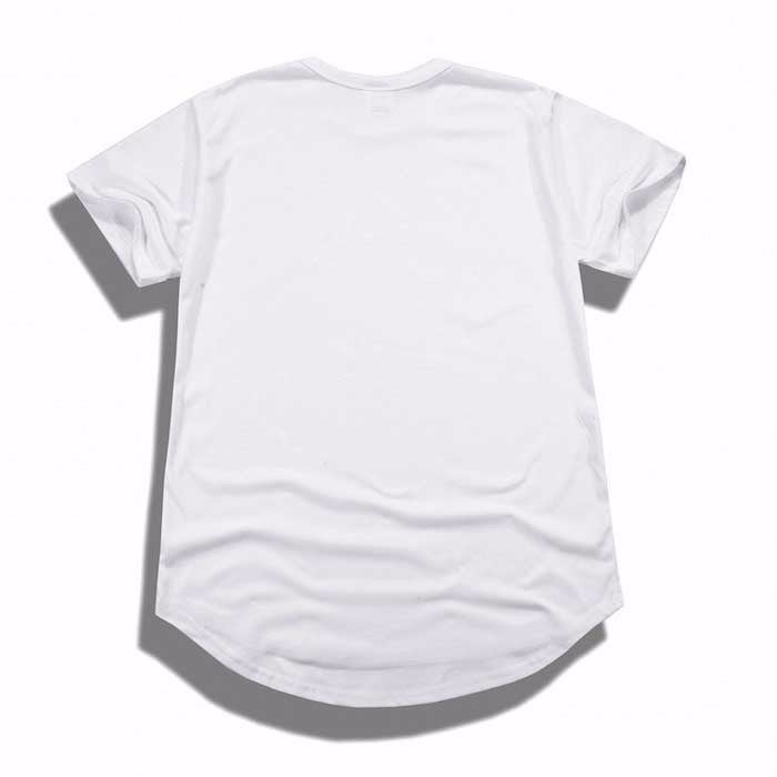 Premium Stefan Scoop Tee (White)