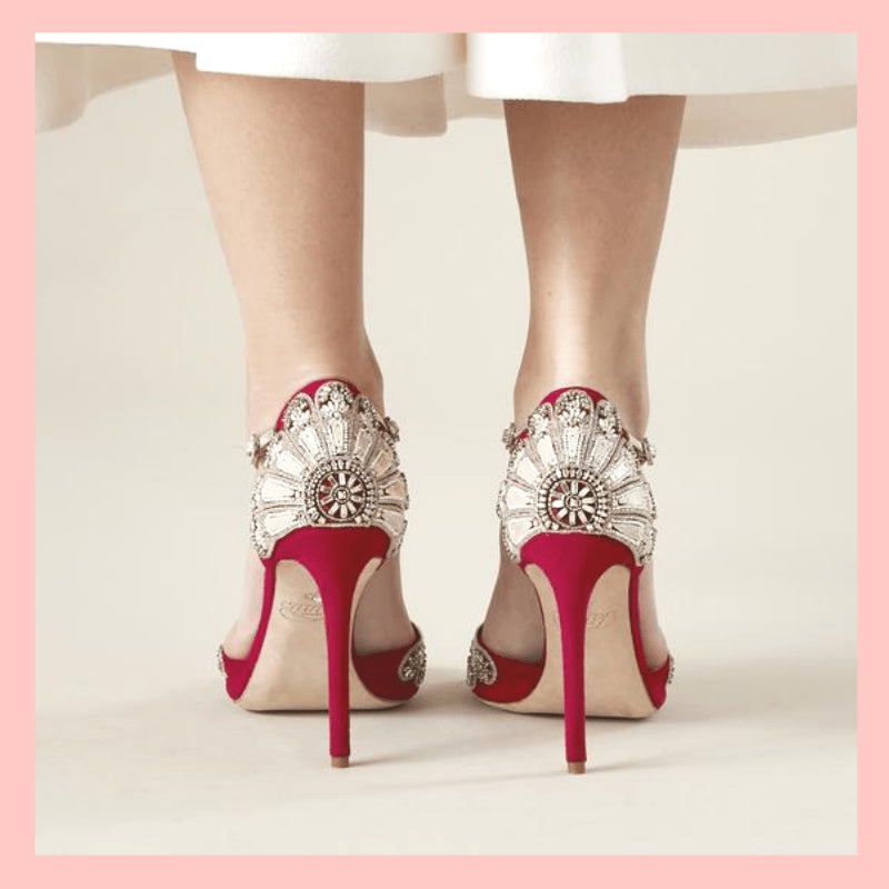 Colourful Wedding Shoes A Trend Thats Going No Where The