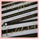 Wedding Invitation with Plus One