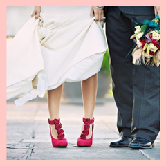 Colour Wedding Shoes