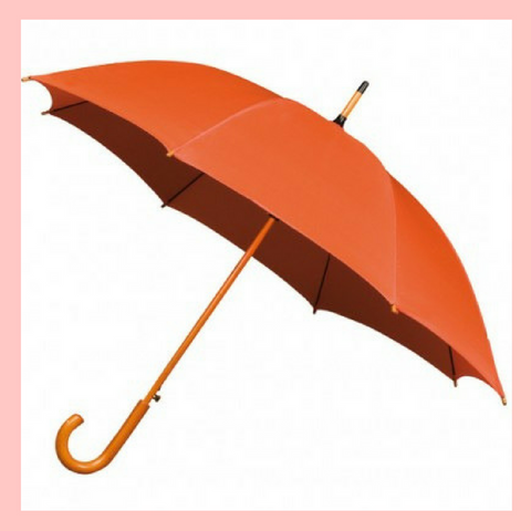 Orange Wedding Umbrella Autumn