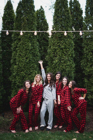Flanel Bridesmaids