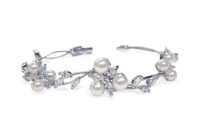The Lovely Little Label Bracelet Waterlily Pearl Bracelet