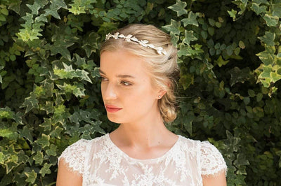 The Lovely Little Label Hair Accessories Blossom Gold Headband