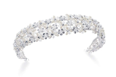 The Lovely Little Label Hair Accessories Davinia Pearl Tiara Headband