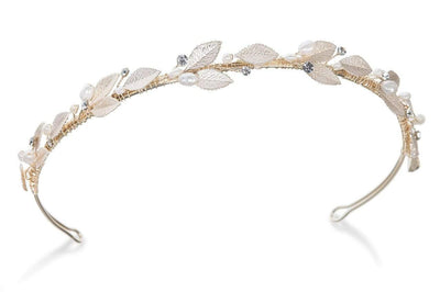 The Lovely Little Label Hair Accessories Gold Blossom Gold Headband