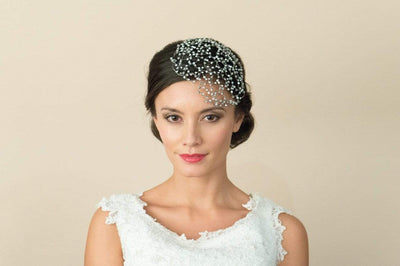 The Lovely Little Label Hair Accessories Ivory & Co Lois Headpiece