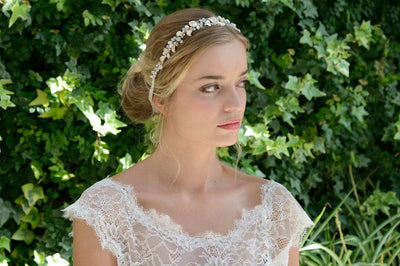 The Lovely Little Label Hair Accessories Ivory & Co Sandy