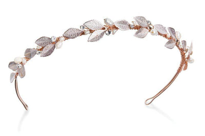 The Lovely Little Label Hair Accessories Rose Gold Blossom Gold Headband