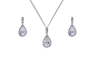 The Lovely Little Label Jewellery Belmont Necklace & Earrings Set by Ivory & Co