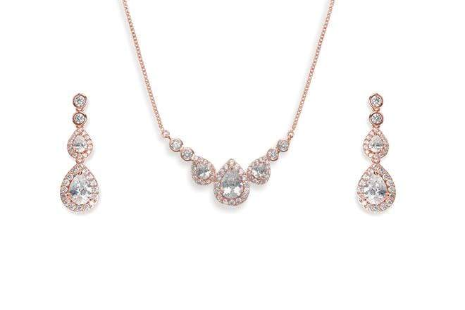 The Lovely Little Label Necklace Sorbonne Necklace in Rose Gold