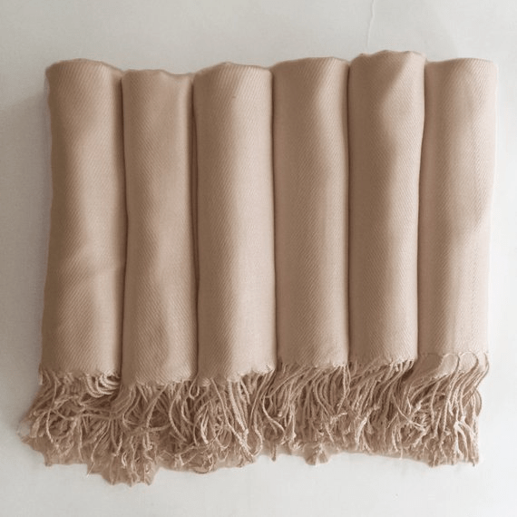 Wedding Pashmina Shawl - Cashmere feel