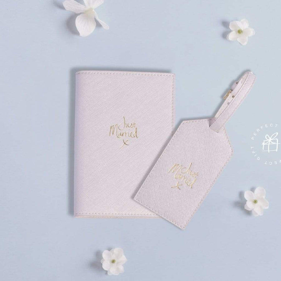 Just Married Passport Cover