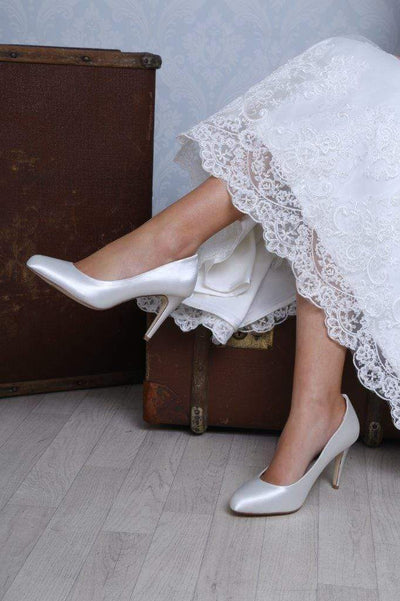 The Lovely Little Label Shoes Darci Court Wedding Shoes
