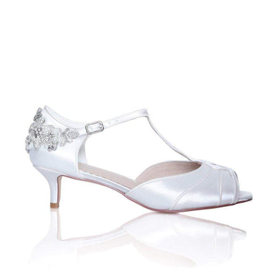 The Lovely Little Label Shoes EU 36 UK 3 Georgie Peep Toe Bridal Shoe